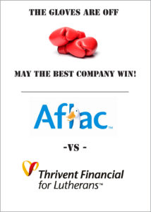 AFLAC vs. Thrivent Financial for Lutherans